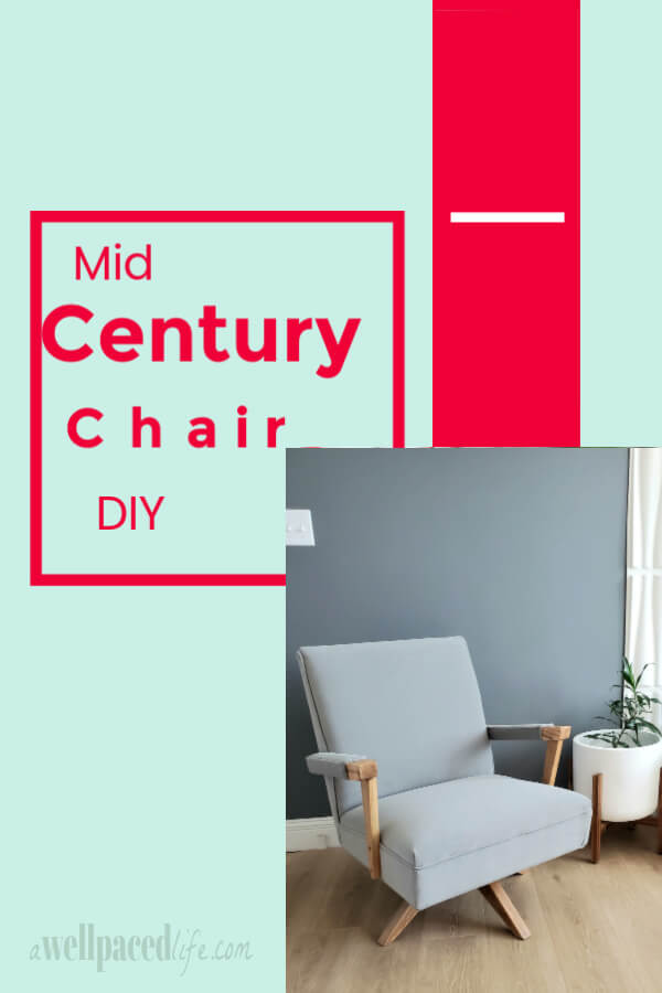 Mid Century Chair DIY Project