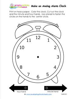 Image Result For Clock Worksheets