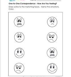 Preschool Worksheet Gallery: Preschool Emotion Matching