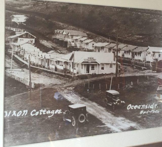 Oceanfront cabins in Oceanside Oregan