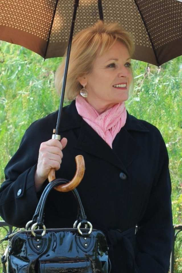 Women Over 50: Looking Stylish in the Rain