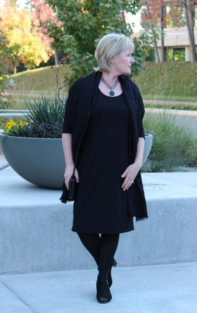 Covered Perfectly Simple Comfort Dress