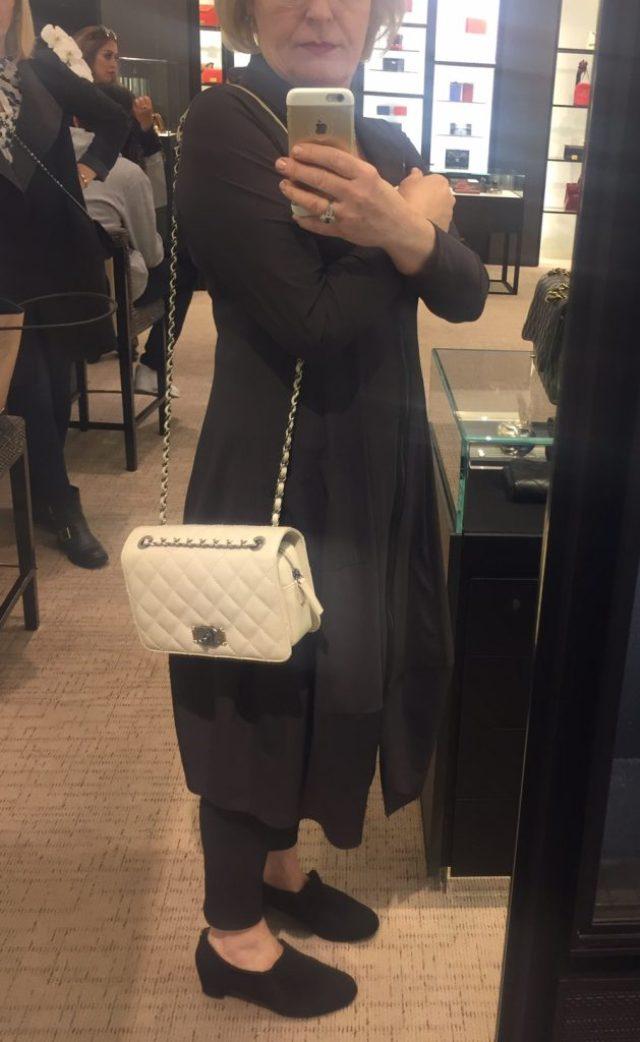 Chanel medium flap bag