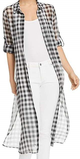 Sheer shirt for mature women on A Well Styled Life