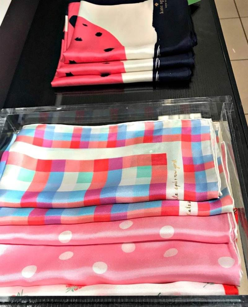 Kate Spade scarves from Nordstrom on A Well Styled Life