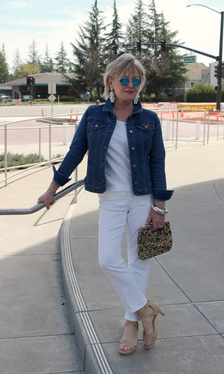 Jennifer Connolly of A Well Styled Life wearing Stella by Adrian Allen