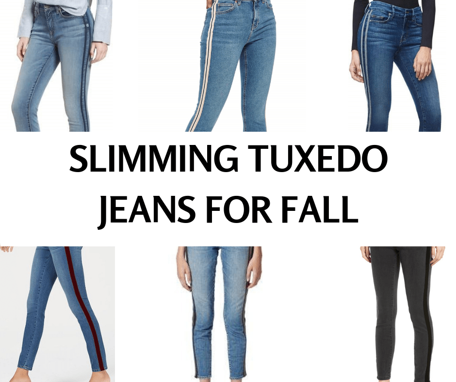 Slimming Tuxedo Jeans for Fall