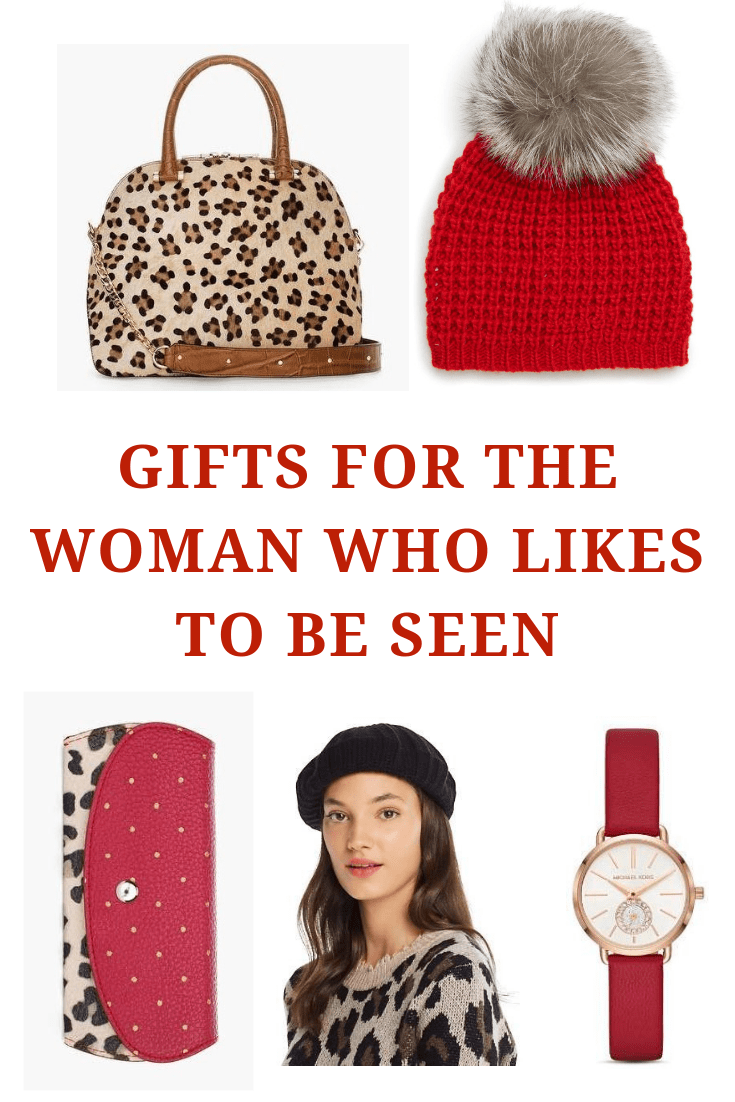 Gifts for the Woman Who Likes to be Seen