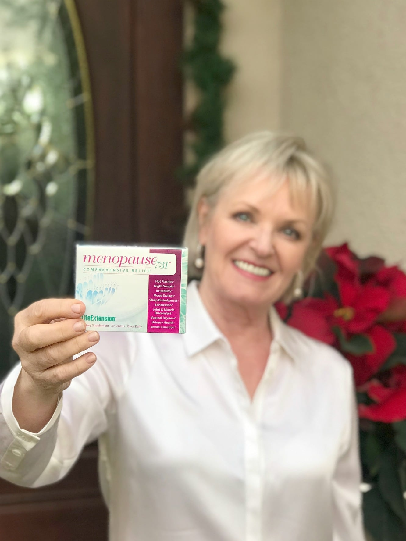 Jennifer Connolly of A Well Styled Life trying Menopause 731 for 30 days