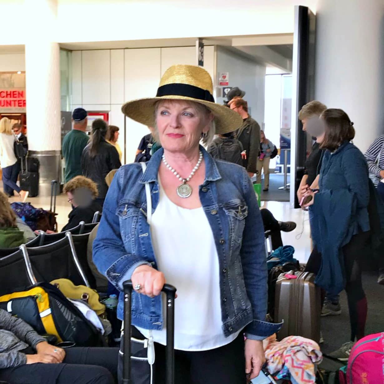 Early Morning Flight: What I Wore