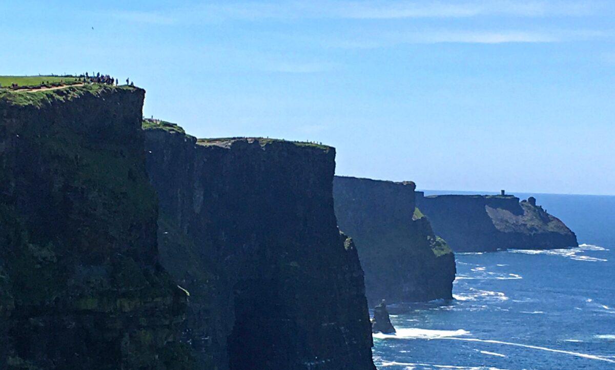 Scenic drive around County Clare