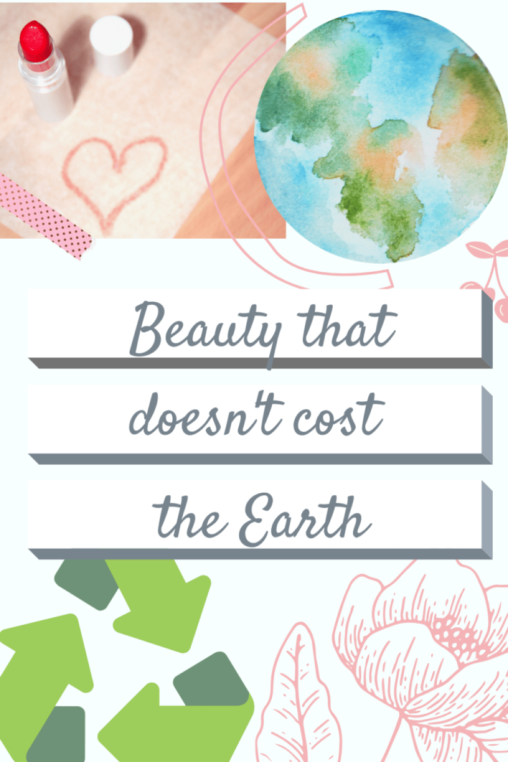 Beauty that doesn't cost the earth! Sustainable Beauty Brand making a difference. www.awelltravelledbeauty.com