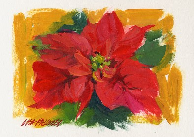 Yuletide Poinsettia