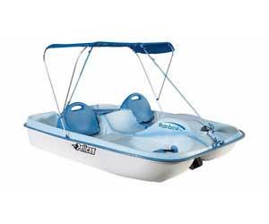 pelican paddleboat