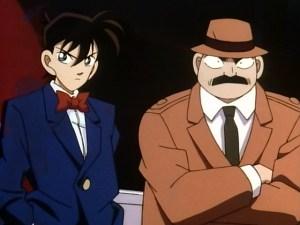 Shinichi & Megure