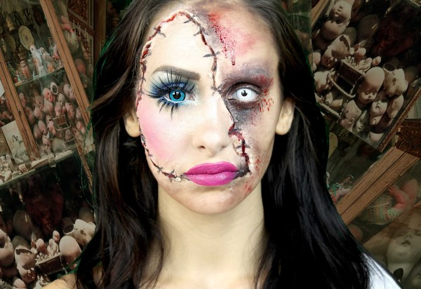 Awesome And Extremely Scary Halloween Makeup Ideas