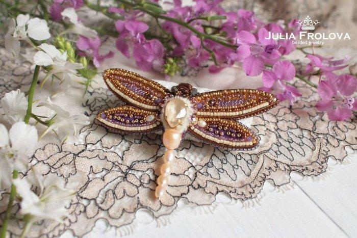 russian artist julia froloya insect jewellery 9