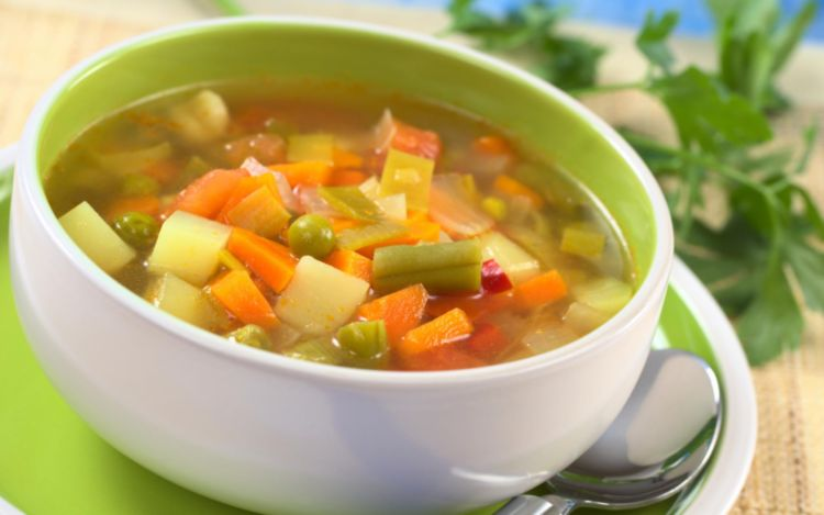 Home made vegetable soup