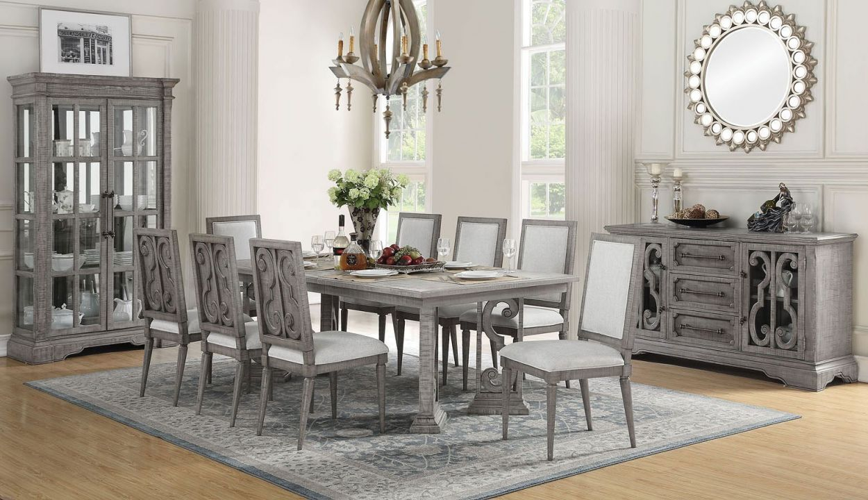 Artesia Rectangular Dining Room Set Regarding Beautiful Dining Room Sets Awesome Decors