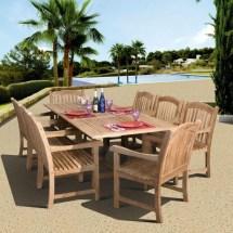 beautiful teak outdoor furniture