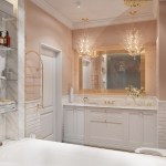 Crystal Bathroom Vanity Lights Awesome Decors