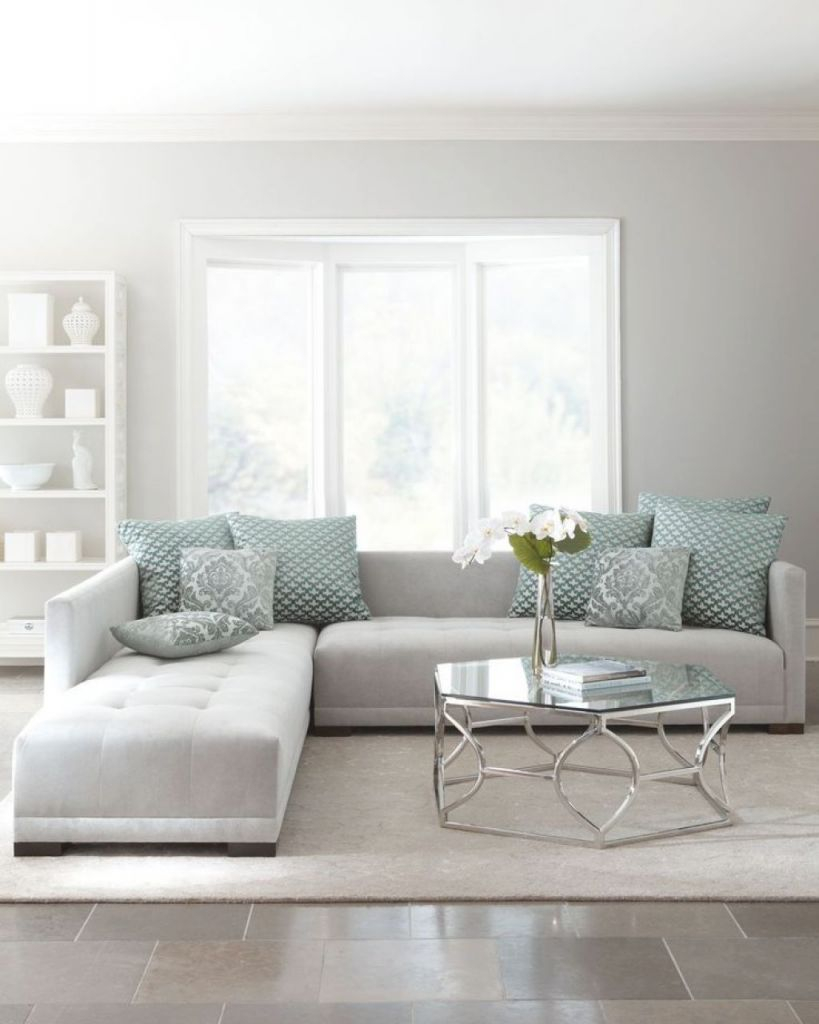 within grey sectional living room ideas