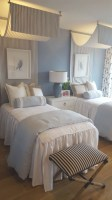 Guest Room With Twin Beds   Twin Girl Bedrooms, Small ...