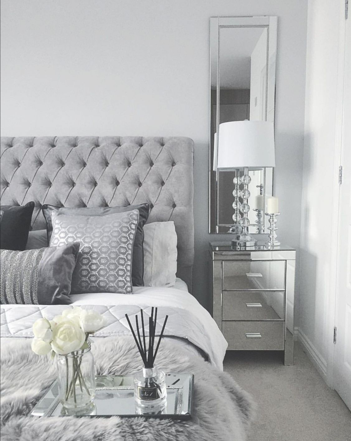 Grey Bedroom Inspo Grey Interior Bedroom Silver Mirror Inside Black And Grey Bedroom Decorating Ideas Awesome Decors