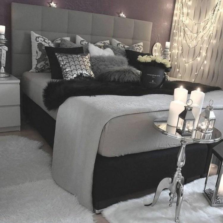 Stylish Stylish Black And White Bedroom Ideas 1 Bedroom Pertaining To Black And Grey Bedroom Decorating Ideas Awesome Decors