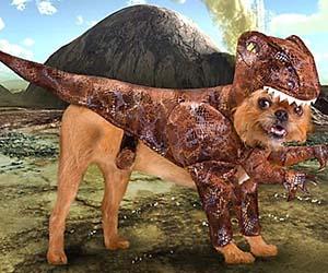 Dog Raptor Costume