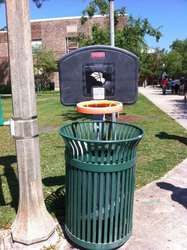 basketball bin