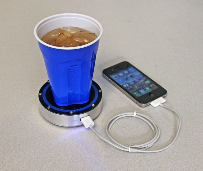 charge phone with drinks