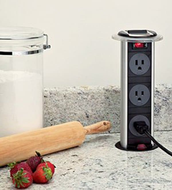 pop up outlets for kitchen picture 15 simple ideas that are borderline genius