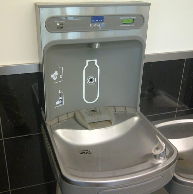 water bottle fountain machine