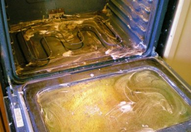 Cleaning Oven With Baking Soda And Vinegar