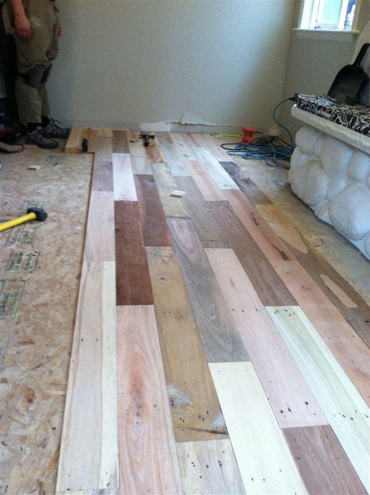 Laying Wood Floors