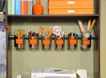 15 Awesome DIY Ways to Organize Your Office - Part 1