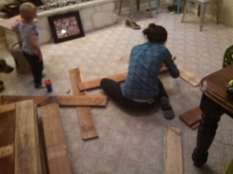 What This Family Did With Wooden Pallets Is Amazing