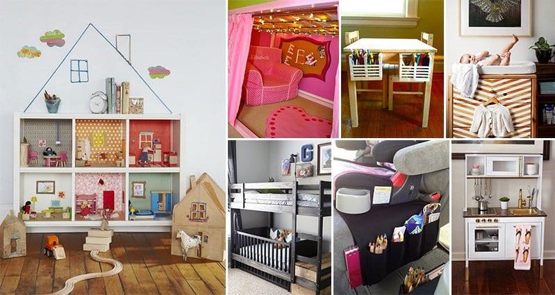 15 Amazing IKEA Hacks To Keep Kids Happy and Parents Sane