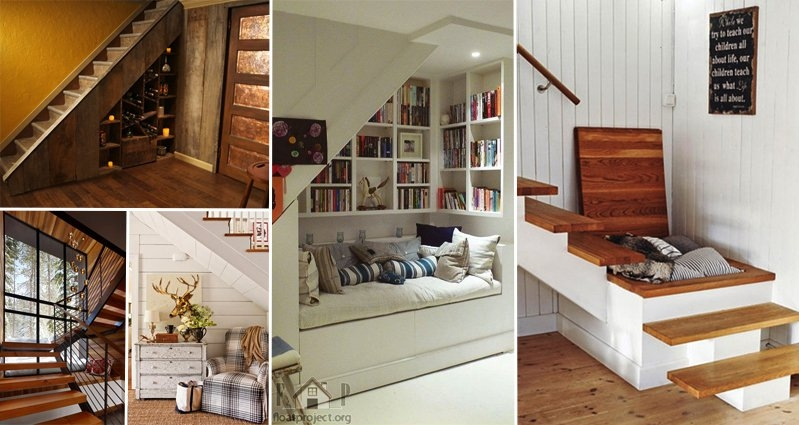 14 Awesome Ways To Use Your Under Stair Area Part 2 | Cabinet Design Under Stairs | Kitchen | Interior Design | Houzz | Stairs Storage Ideas | Understairs Storage
