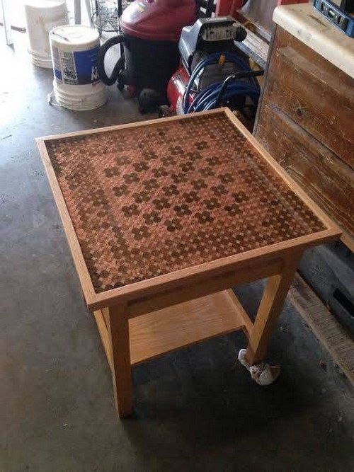 This Guy Made An Epic Chess Table For His Brother Using