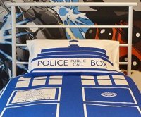 Dr Who Tardis Bedding Set