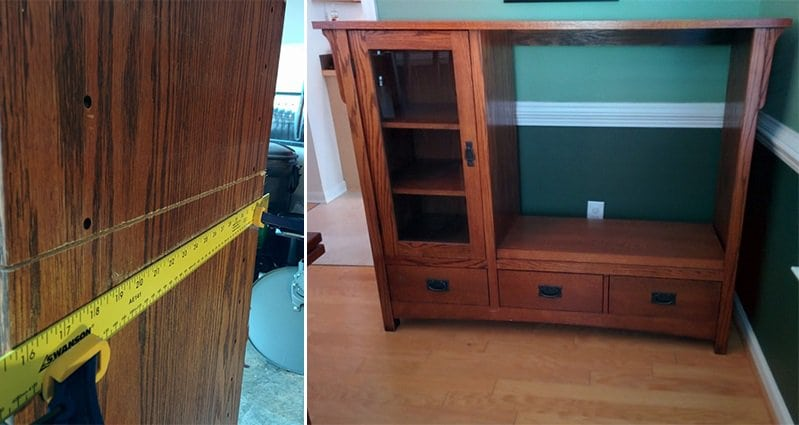 This Old TV Cabinet Gets Upcyled Into Something Awesome