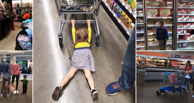 16 Examples Of When Shopping With Children Goes Wrong
