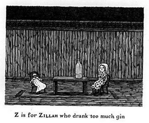 Edward Gorey Teaches Kids Theirs ABCs The Creepy Way In
