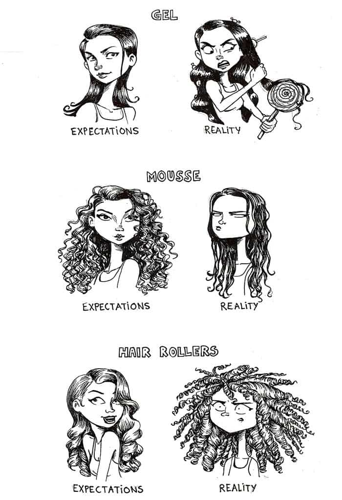 People With Curly Hair Can Relate To These Hilarious
