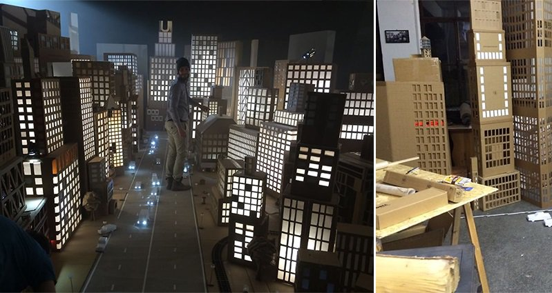 This Amazing Cardboard Box City That Spreads Over 500
