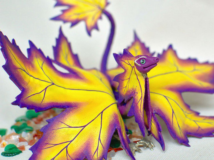 Darya Belomoina Creates An Awesome Fantasy World Of Fairy Tale Dragons