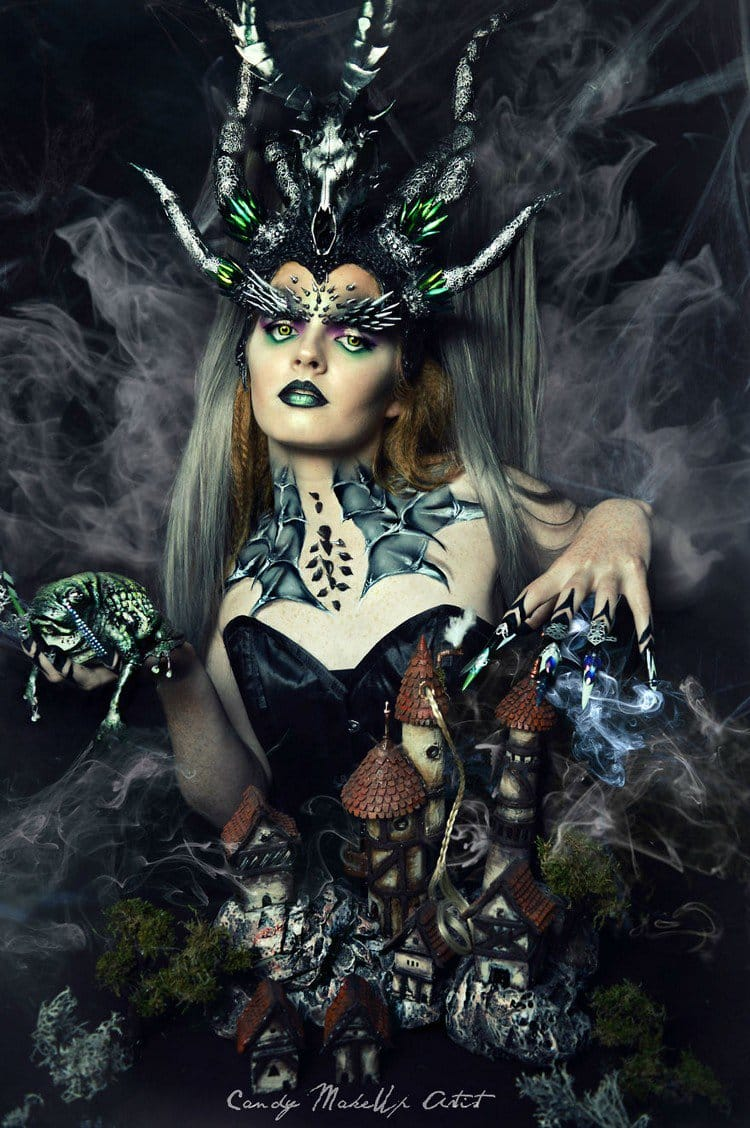 Candy MakeUp Artist Creates The Amazing Fantasy Style Looks From Scratch