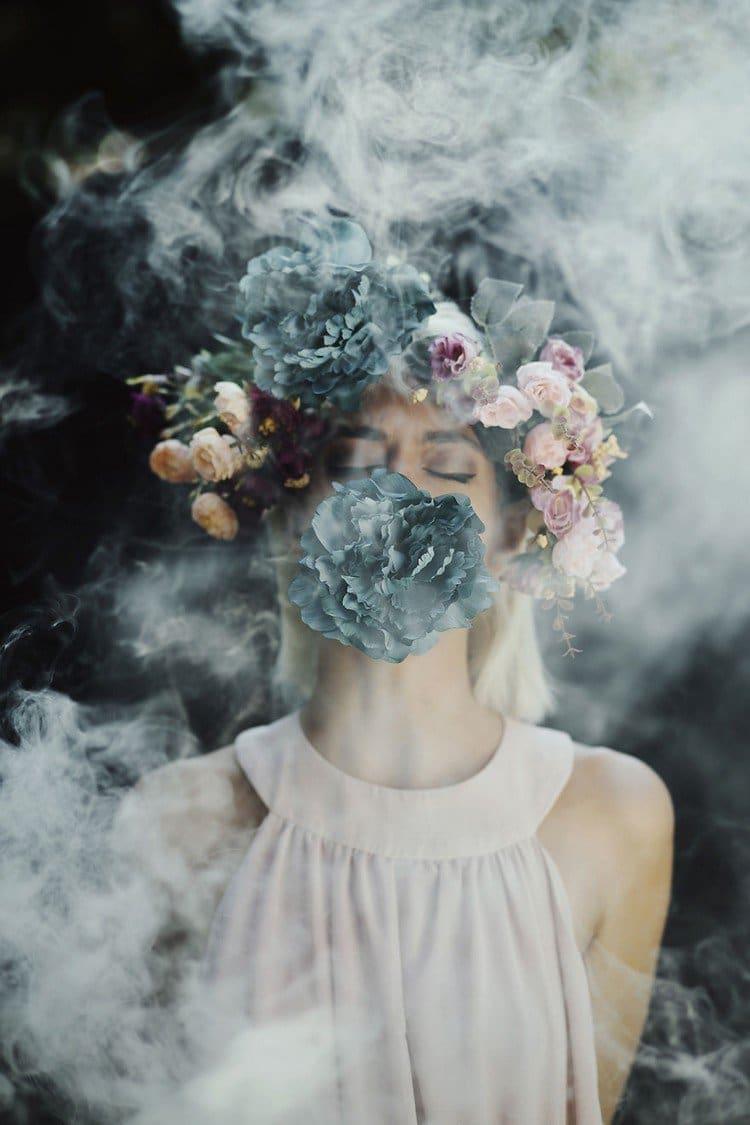 Beautiful Girl Hand Wallpaper Jovana Rikalo Uses Smoke Bombs To Create Beautifully